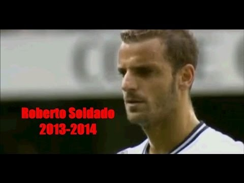 Roberto Soldado | All Goals - 2013-14 | HD