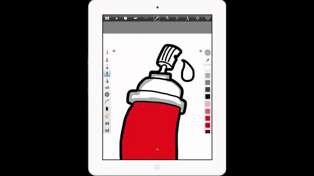 Drawing in Sketchbook Pro for iPad - YouTube