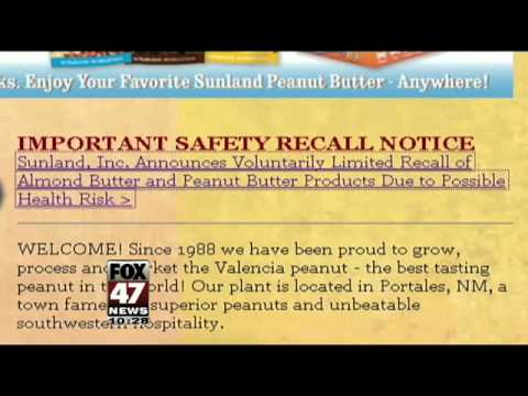 Additional Products Added to Peanut Butter Recall
