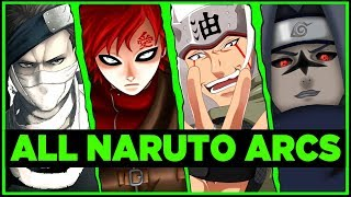 Dissecting Every Arc in Naruto (Ft. Swagkage)