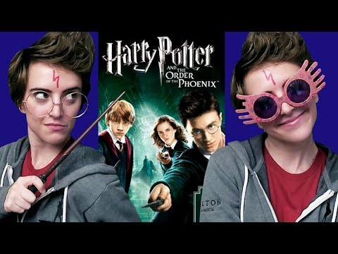Me Watching Harry Potter and the Order of the Phoenix Movie Reaction