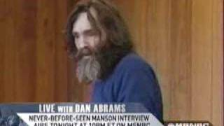 Charles Manson Speaks