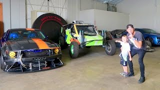 OUR SECRET GARAGE!!