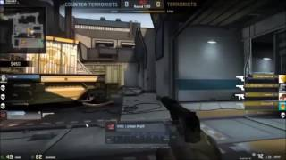 180 degree flick usp-s 1 tap on de_train