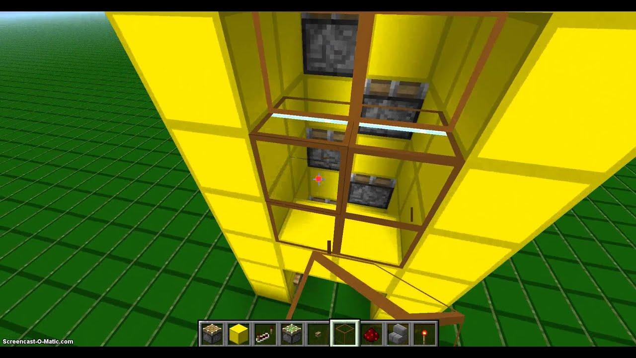 Как сделать лифт в майнкрафте смотреть