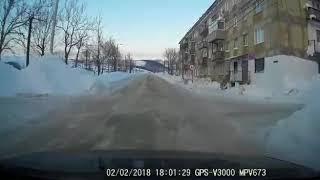 В Чехове пристолкновении снегохода споездом погиб мужчина