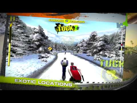 Downhill Xtreme Longboard Racing Game for iOS Trailer
