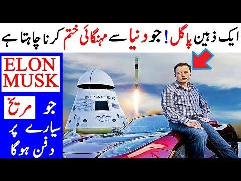 Elon Musk Jo Akela Hee Dunya Ko Heraan Kar Raha Hey   Elon Musk: A Man Full of Crazy ideas!