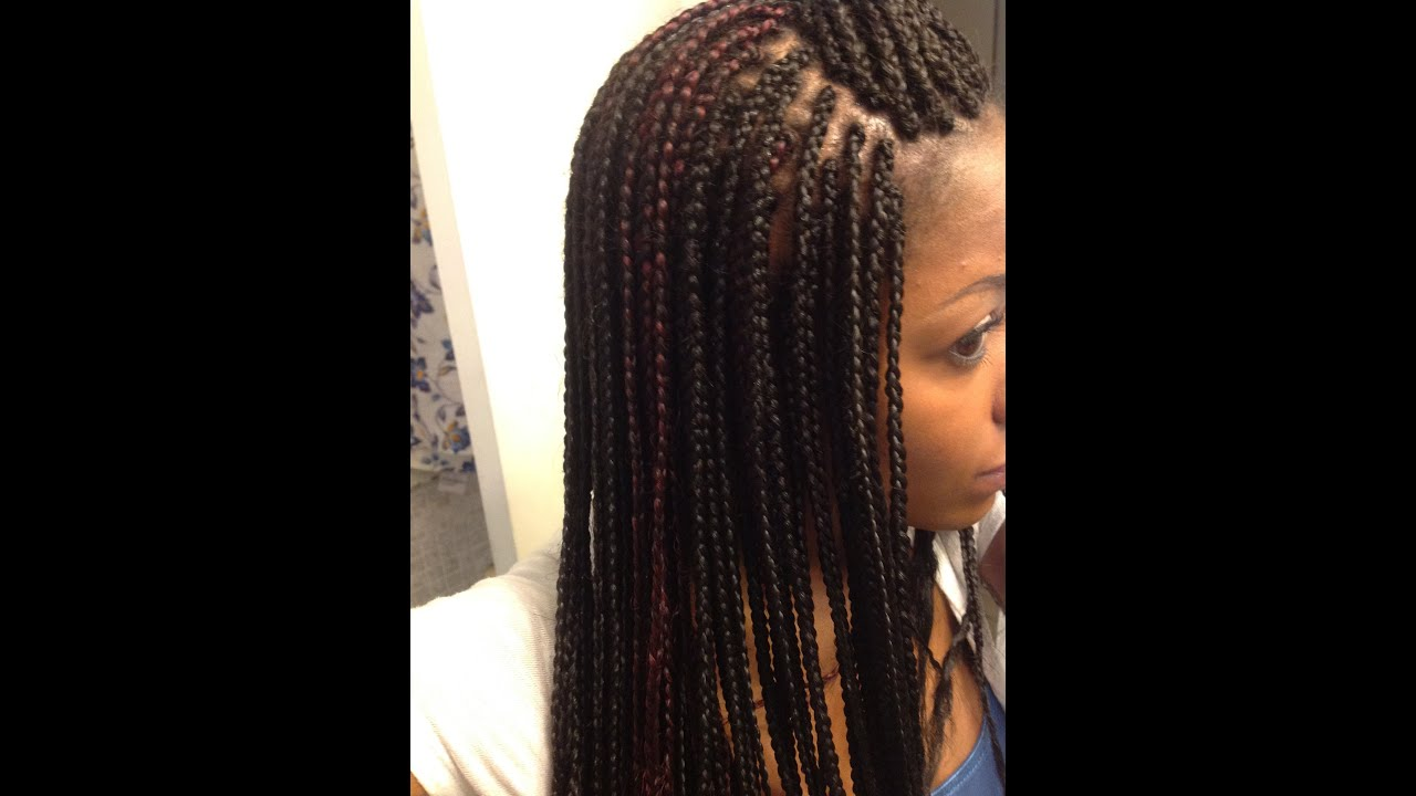 How To Straighten Braids With Hot Water YouTube