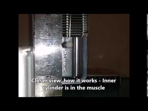 Artificial muscle works with water only