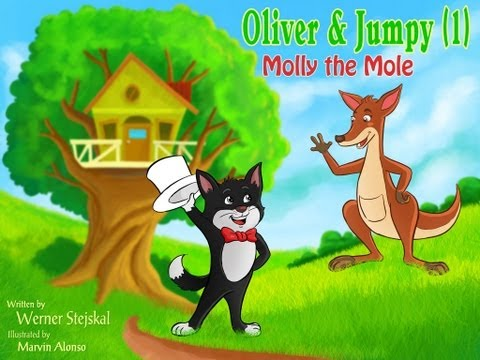 Popular fairytales and best bedtime stories Molly, a Mole with Oliver and Jumpy