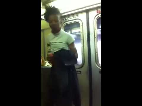 Lady Poops Herself On A Train!! video