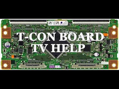 lcd tv repair tutorial t con board common symptoms. Black Bedroom Furniture Sets. Home Design Ideas