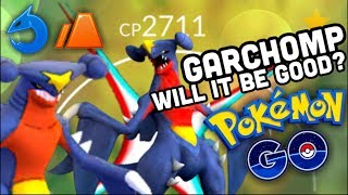 GARCHOMP IN POKEMON GO WILL IT BE GOOD? | TWILIGHT CUP TEST BATTLES