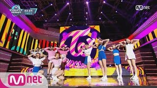 Twice Tt Comeback Stage M Countdown 161027 Ep 498