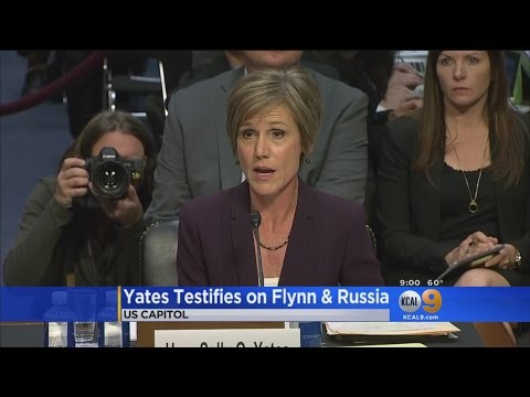 Yates Says She Warned Trump Administration About Flynn As Security Risk