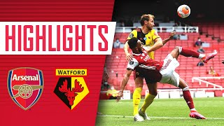 HIGHLIGHTS | Arsenal 3-2 Watford | Premier League | Aubameyang (2), Tierney