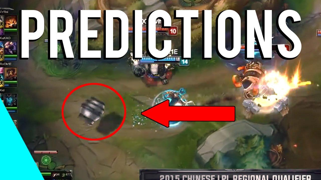 Best League of Legends Predictions | Montage 2016