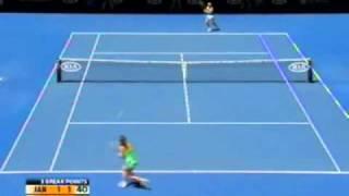 Marion Bartoli vs Jelena Jankovic 2009 AO Highlights