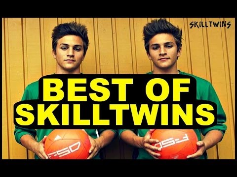 Best Of Skilltwins! ★ Amazing Twins Football freestyle Skills video