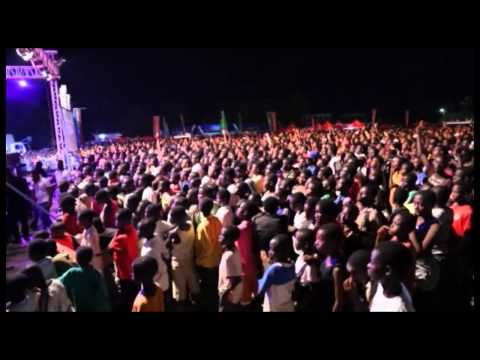 Vodafone Ghana Music Awards 2013 Nominees Jam at the Jackson Park, Koforidua