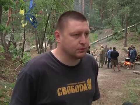 Коростишівська Січ - військово-тактичний табір для молоді. Програма ''Акценти''