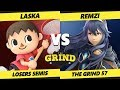 Smash Ultimate Tournament Laska Villager Vs Remzi Lucina The Grind 57 SSBU Losers Semis mp3