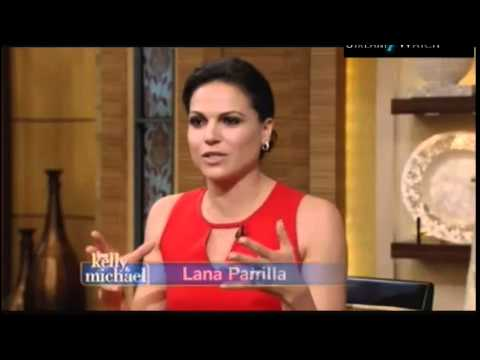 Lana Parrilla - Live with Kelly and Michael - (MQ)