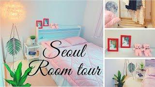 Hàn Quốc ROOM TOUR 2019 | Lần đầu giới thiệu phòng ngủ, Trang trí phòng ngủ | Room makeover, Seoul