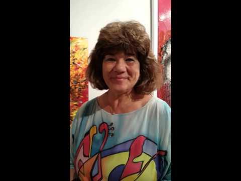 HELEN KAGAN , RUSSIAN ARTIST AT PALM BEACH ART CENTRE