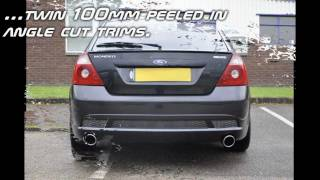 BCS AUTOMOTIVE FORD MONDEO ST 220 Stainless Steel Performance Exhaust