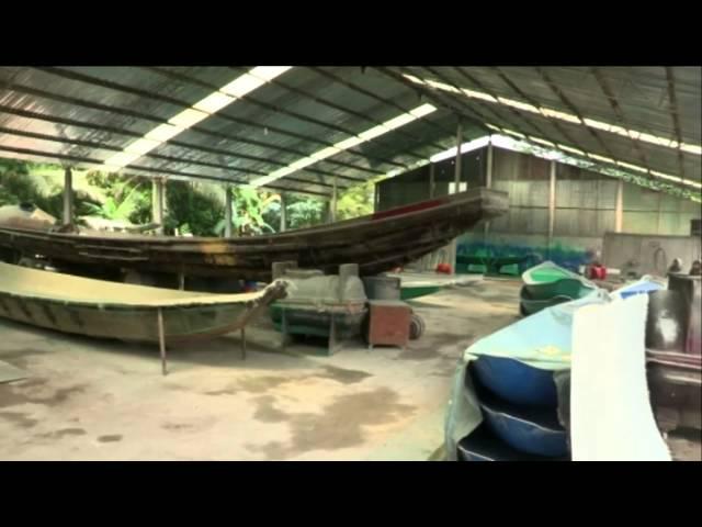 Xưởng đóng tàu hai thân cao tốc đầu tiên tại Việt Nam