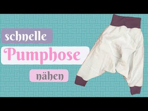 DIY Pumphose, Wendepumphose Selber Nähen,