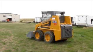 1996 Daewoo 601 skid steer for sale | sold at auction June 10, 2015
