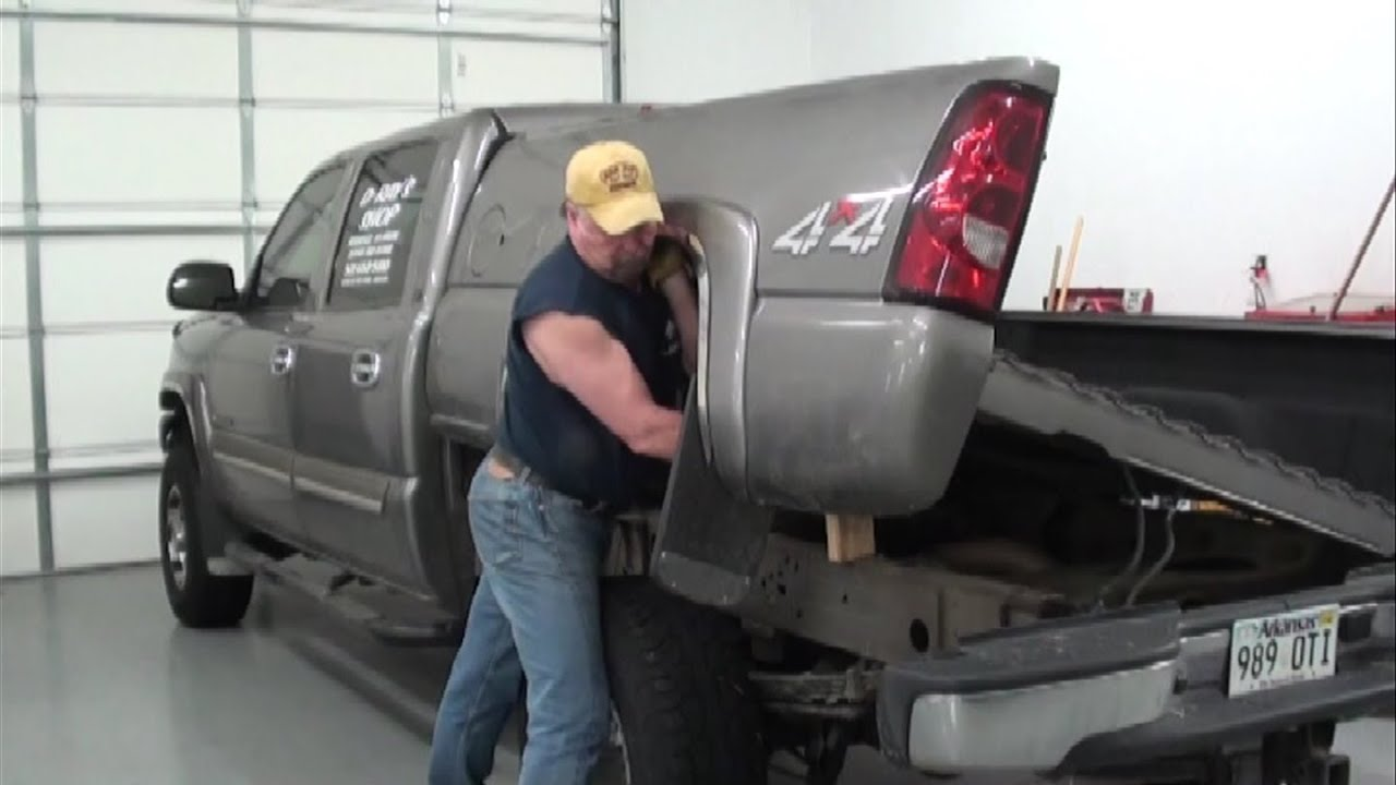 2016 Dodge Ram 3500 >> Pt.1 2007 Chevy Pickup Fuel Pump Replacement At D-Ray's Shop - YouTube