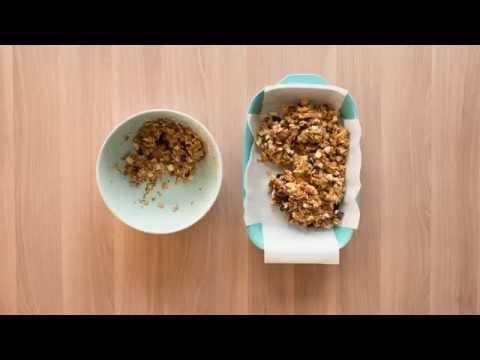 Homemade Chiquita Banana Granola Bars Recipe