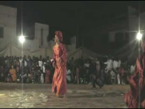 FATIMATA in Senegal Sabar dance 2008