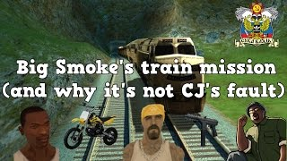 Big Smoke's train mission (and why it's not CJ's fault)