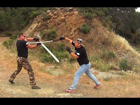 Sword fighting ACT. Cyprus 2016
