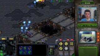 StarCraft Remastered - 1v1 (FPVOD) Artosis (T) vs forever-yOung (T) Circuit Breakers (1080p60FPS)