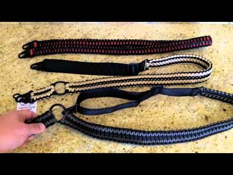 Sandstorm Custom Paracord Rifle Slings Review