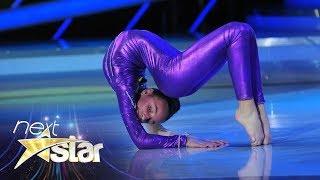 Număr extrem de contorsionism! Vezi momentul impresionant al Andreei Tucaliuc de pe scena Next Star