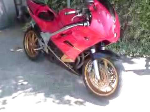 honda vfr 750 f RC36 Video