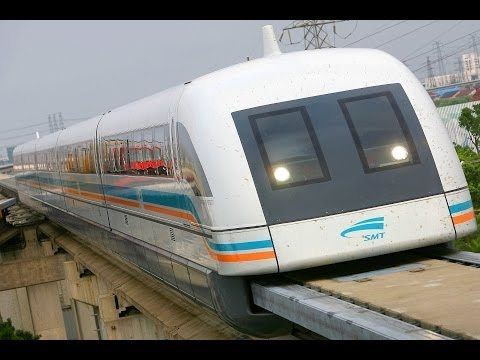 WORLDS FASTEST TRAINS - MAGLEV