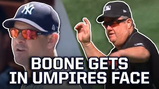 Joe West Ejects Aaron Boone, a breakdown