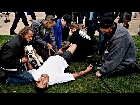 Pre-Shooting 420 Marijuana Rally Civic Center Park in Denver Colorado