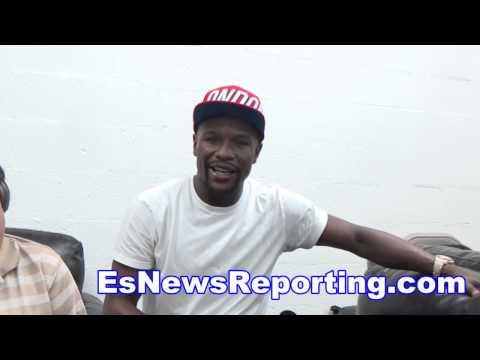Floyd Mayweather I'd Beat GGG & Says If De La Hoya Wants He Will Do A Rematch - EsNews