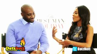 THE BEST MAN HOLIDAY: Interview with Morris Chestnut & Monica Calhoun
