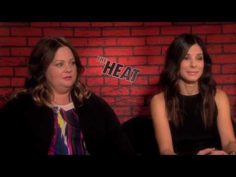 Sandra Bullock and Melissa McCarthy play 'Who's More Likely To' for THE HEAT!