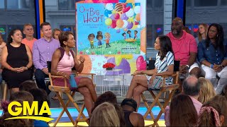 Linsey Davis shares the inspiration behind her new book 'One Big Heart' l GMA